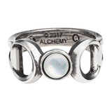 Triple Goddess Ring by Alchemy of England
