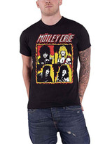 Motley Crue Shout at the Devil Flames Classic T-Shirt