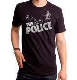 The Police Zenyatta Redux Adult T-Shirt Black