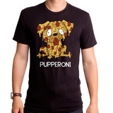 Pupperoni Adult T-Shirt Black