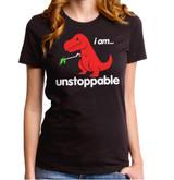 Unstoppable Junior Women's T-Shirt Black