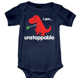 Unstoppable Baby Onesie T-Shirt Navy
