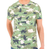 Catmouflage Adult T-Shirt Sublimated