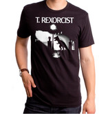 T-Rexorcist Adult T-Shirt Black