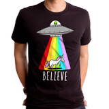 Believe Adult T-Shirt Black