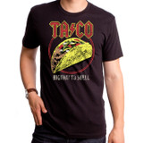 Taco Highway To Shell Adult T-Shirt Black