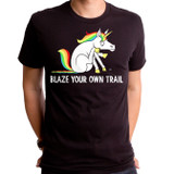 Blaze Your Own Adult T-Shirt Black