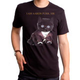 Aaron Purr Adult T-Shirt Black