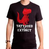 Tattooed Adult T-Shirt Black