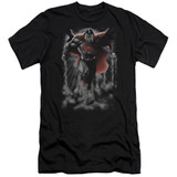 Superman Above The Clouds Adult 30/1 T-Shirt Black