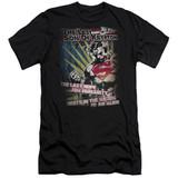 Superman Last Hope Adult 30/1 T-Shirt Black
