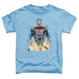Superman 224 Cover Toddler T-Shirt Carolina Blue