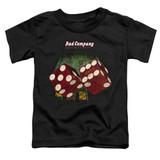 Bad Company Straight Shooter Toddler T-Shirt Black