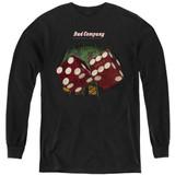 Bad Company Straight Shooter Youth Long Sleeve T-Shirt Black