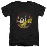 Bad Company Bad Co Adult V-Neck T-Shirt Black