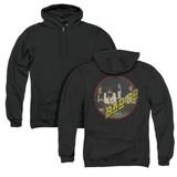 Bad Company Bad Co (Back Print) Adult Zipper Hoodie Sweatshirt Black