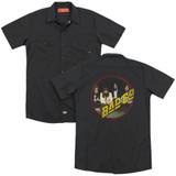 Bad Company Bad Co (Back Print) Adult Work Shirt Black