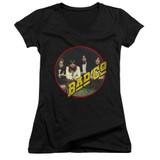 Bad Company Bad Co Junior Women's V-Neck T-Shirt Black