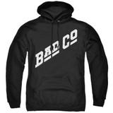 Bad Company Bad Co Logo Adult Pullover Hoodie Sweatshirt Black