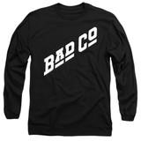 Bad Company Bad Co Logo Adult Long Sleeve T-Shirt Black