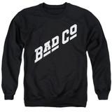 Bad Company Bad Co Logo Adult Crewneck Sweatshirt Black