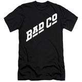 Bad Company Bad Co Logo Adult 30/1 T-Shirt Black