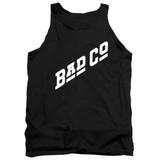 Bad Company Bad Co Logo Adult Tank Top T-Shirt Black