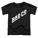Bad Company Bad Co Logo Toddler T-Shirt Black