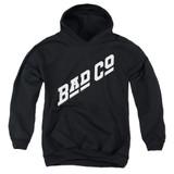 Bad Company Bad Co Logo Youth Pullover Hoodie Sweatshirt Black