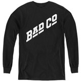 Bad Company Bad Co Logo Youth Long Sleeve T-Shirt Black