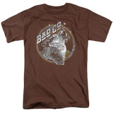 Bad Company Wolf Pack Adult 18/1 T-Shirt Coffee