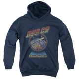 Bad Company Shooting Star Youth Pullover Hoodie Sweatshirt Navy