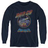 Bad Company Shooting Star Youth Long Sleeve T-Shirt Navy