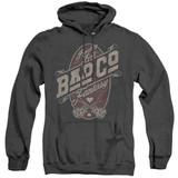 Bad Company Fantasy Adult Heather Hoodie Sweatshirt Black