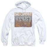 Bad Company Swan Song Adult Pullover Hoodie Sweatshirt White