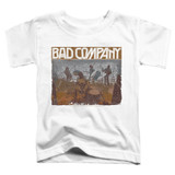 Bad Company Swan Song Toddler T-Shirt White