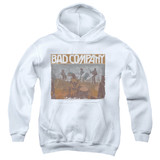 Bad Company Swan Song Youth Pullover Hoodie Sweatshirt White