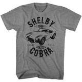 Carroll Shelby Motors Shelby Helby Cobra Graphite Heather T-Shirt