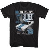 Carroll Shelby Motors Shelby Gt350 Black T-Shirt