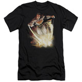 Superman Explosive Adult 30/1 T-Shirt Black