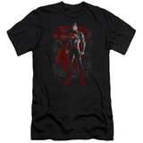 Superman Aftermath Adult 30/1 T-Shirt Black