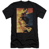 Superman Fireproof Adult 30/1 T-Shirt Black