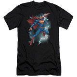 Superman Annual Number 1 Cover Adult 30/1 T-Shirt Black