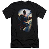 Superman Ck Superstar Adult 30/1 T-Shirt Black
