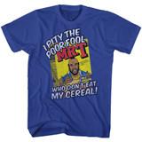 Mr. T Cereal Royal Adult T-Shirt