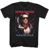 Terminator The Name Black Adult T-Shirt