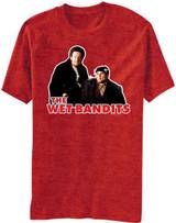 Home Alone Wet Bandits Outline Black Adult T-Shirt