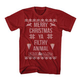 Home Alone Home Alone Sweater Red Adult T-Shirt