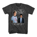 Napoleon Dynamite Listen To Your Heart Black Heather Adult T-Shirt
