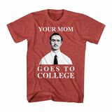 Napoleon Dynamite Mom College Red Heather Adult T-Shirt